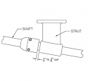 Bullnose Collar for Shaft (Sail Boat)